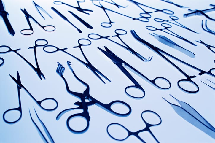 USMS | US Medical Systems | Elevated View of Surgical Objects