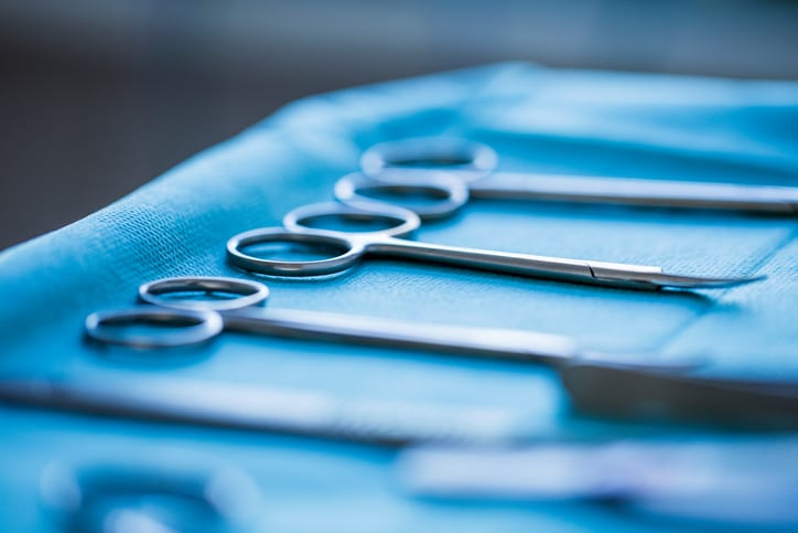 USMS   US Medical Systems   Surgical scissors in operating room